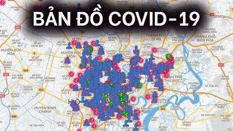 Bản đồ covid toàn thế giới mới nhất | VNCARE