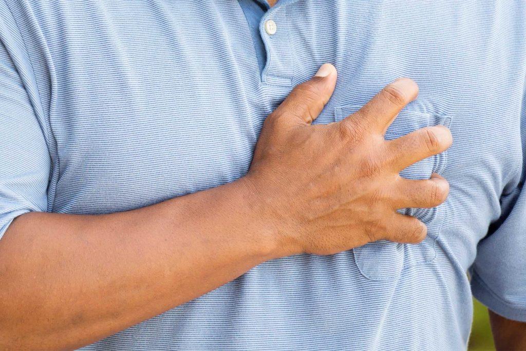 Dấu hiệu covid-19: Tức ngực - Ảnh 5