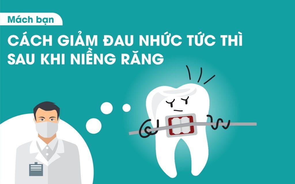 Làm sao để giảm đau khi niềng răng? | VNCARE