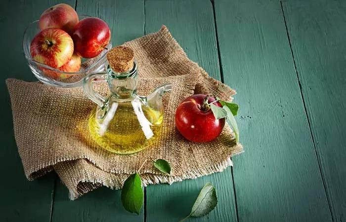 Cách trị mụn thịt quanh mắt tận gốc tại nhà bằng giấm táo - Ảnh 5