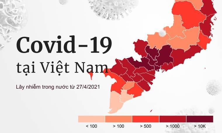 Số ca nhiễm covid hôm nay tại việt nam | VNCARE